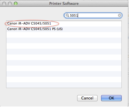 How to Setup Printing (to a Canon MFP) on a Mac - ITS