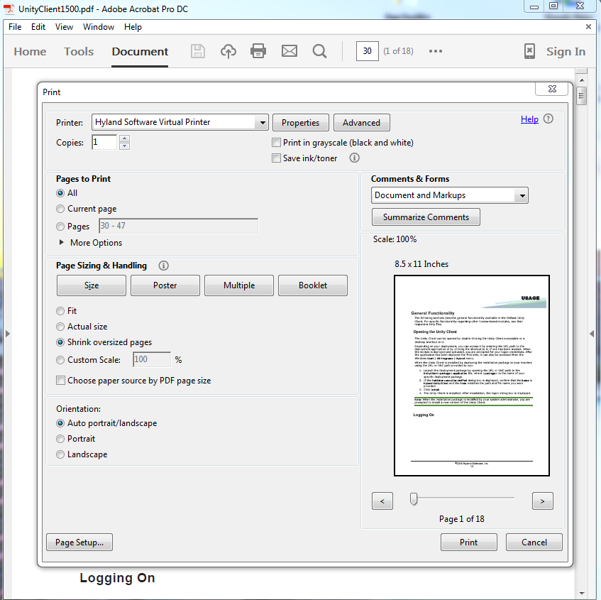 how to separate pdf documents