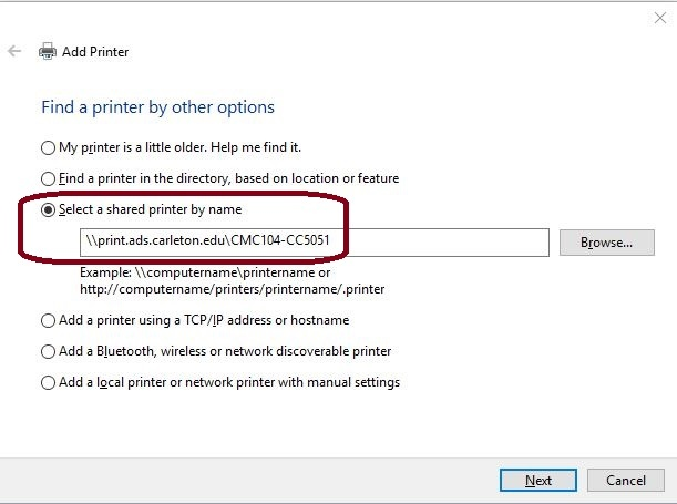 how to set up printer on windows 10