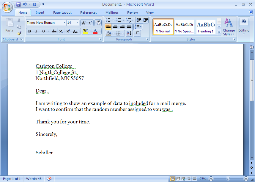 How To Use Mail Merge In Microsoft Word To Create Batch